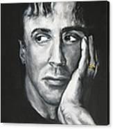 Sylvester Stallone Canvas Print