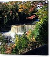 Tahquamenon Falls In Autumn Canvas Print