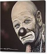 The Clown Canvas Print