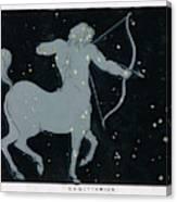 The Constellation Of  Sagittarius Canvas Print
