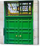 The Doors Of Madrid Spain Xii Canvas Print