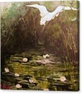 The  Secret  Place Canvas Print