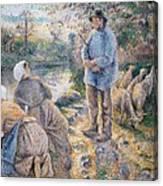 The Washerwomen Canvas Print
