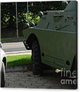 Vehicle Of The Future Canvas Print