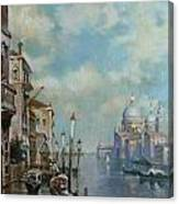 Venice At Noon Canvas Print