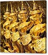 Wat Phra Kaeo Temple - Bangkok - Thailand.  Canvas Print