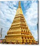 Wat Phra Kaeo Temple - Bangkok Canvas Print