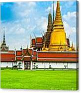 Wat Phra Kaew - Bangkok Canvas Print