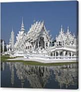 Wat Rong Khun Ubosot Dthcr0002 Canvas Print