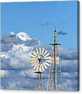 Water Windmills Canvas Print