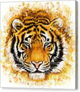 Wild Tiger Canvas Print
