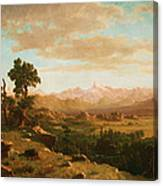 Wind River Country Canvas Print