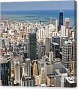 0001 Chicago Skyline Canvas Print