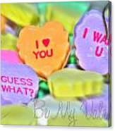 0004 Valentine Series Canvas Print