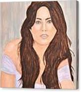 0006 Jordana Canvas Print