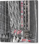 0007 Radio City Music Hall Canvas Print