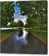 001 After The Rain At Hoyt Lake Canvas Print