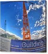 001 Building Buffalo  Canvas Print