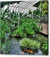 001 Within The Rain Forest Buffalo Botanical Gardens Series Canvas Print