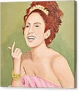 0010 Coquette Canvas Print