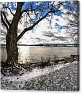 0010 Grand Island Bridge Series Canvas Print