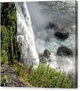 0010 Niagara Falls Misty Blue Series Canvas Print