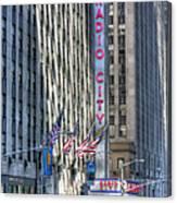 0010 Radio City Music Hall Canvas Print