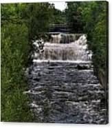 0015 Glen Falls Of Williamsville New York Series  Canvas Print