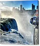0016 Niagara Falls Winter Wonderland Series Canvas Print