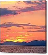 0016233 - Patras Sunset Canvas Print