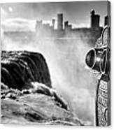 0016a Niagara Falls Winter Wonderland Series Canvas Print