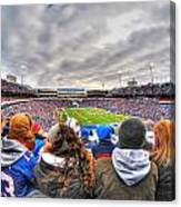 0017 Buffalo Bills Vs Jets 30dec12 Canvas Print