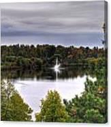 0018 Hoyt Lake Autumn 2013 Canvas Print