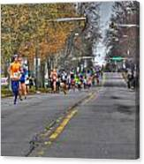 002 Turkey Trot  2014 Canvas Print