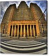 0021 Approaching Our City Hall Canvas Print