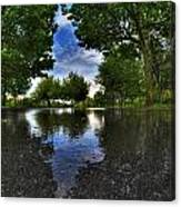 003 After The Rain At Hoyt Lake Canvas Print