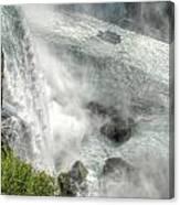 003 Niagara Falls Misty Blue Series Canvas Print