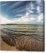 003 Presque Isle State Park Series Canvas Print