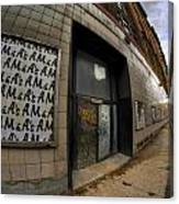0034 Throwback Shopping Center Of Am And As Canvas Print