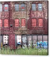 0037 Abandoned Warehouse Canvas Print