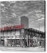 0038 Milwaukee Public Market Canvas Print