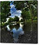 004 After The Rain At Hoyt Lake Canvas Print