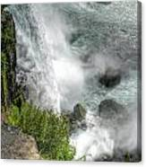 004 Niagara Falls Misty Blue Series Canvas Print