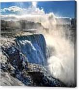 004 Niagara Falls Winter Wonderland Series Canvas Print