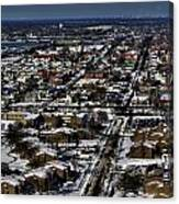 0042 After The Nov 2014 Storm Buffalo Ny Canvas Print