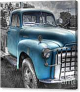 0043 Old Blue Canvas Print