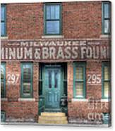 0044 Foundry Building Canvas Print
