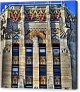 0049 Art Deco City Hall Canvas Print