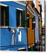 0049 Burano Colors 4 Canvas Print