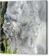 005 Niagara Falls Misty Blue Series Canvas Print